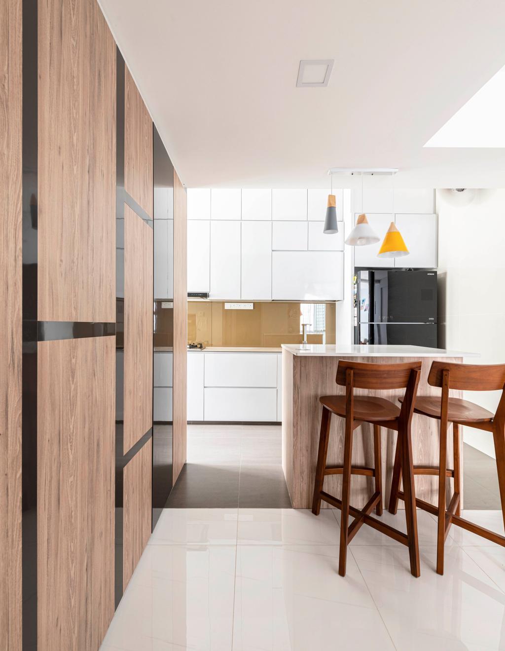 Contemporary, Condo, Dining Room, The Sunny Spring, Interior Designer, 13th Design Studio