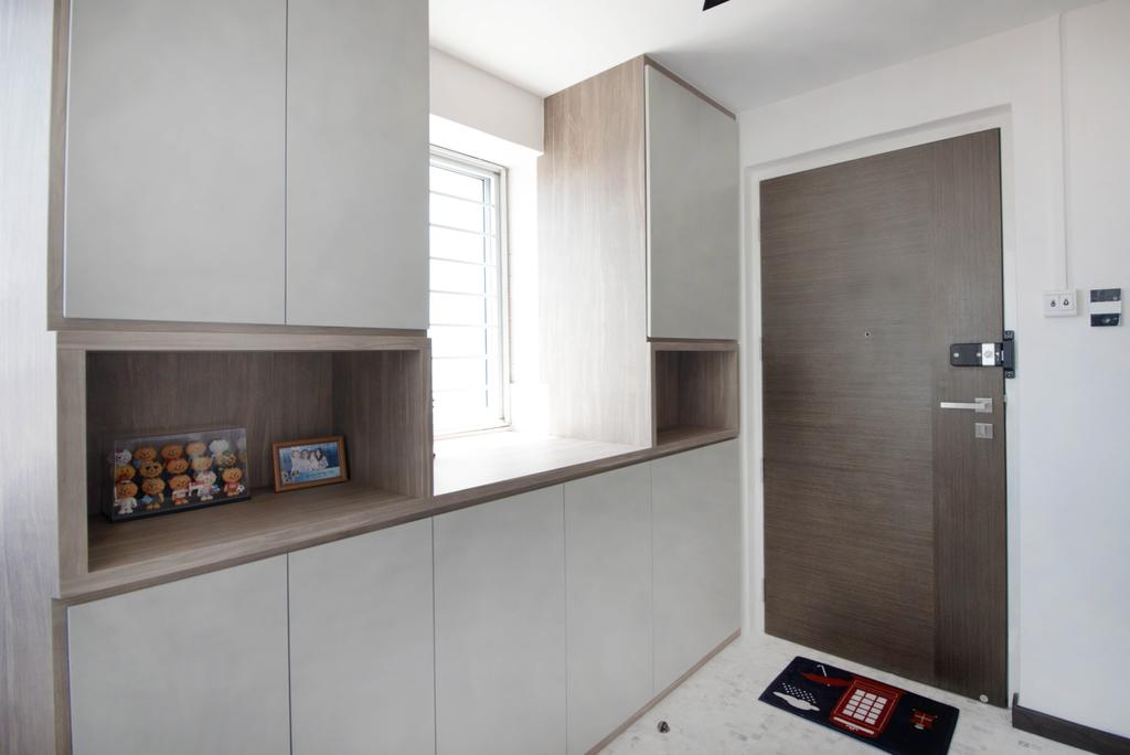 Scandinavian, HDB, Jurong West Street 81, Interior Designer, 13th Design Studio, Modern