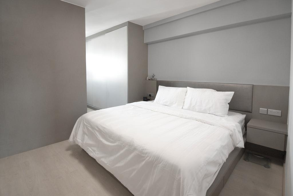 Scandinavian, HDB, Bedroom, Jurong West Street 81, Interior Designer, 13th Design Studio, Modern