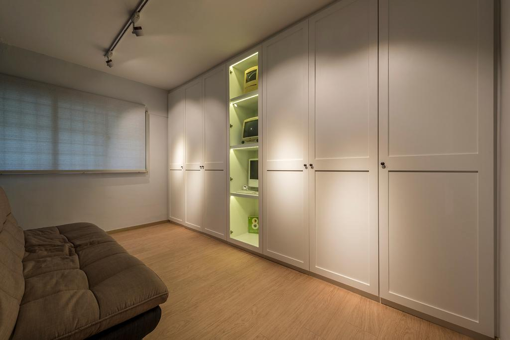 Contemporary, HDB, Bedroom, Telok Blangah Drive, Interior Designer, 13th Design Studio