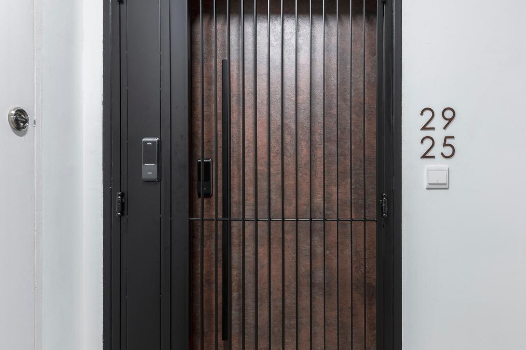Ang Mo Kio Avenue 3, 13th Design Studio, Contemporary, HDB, Gate, Entrance