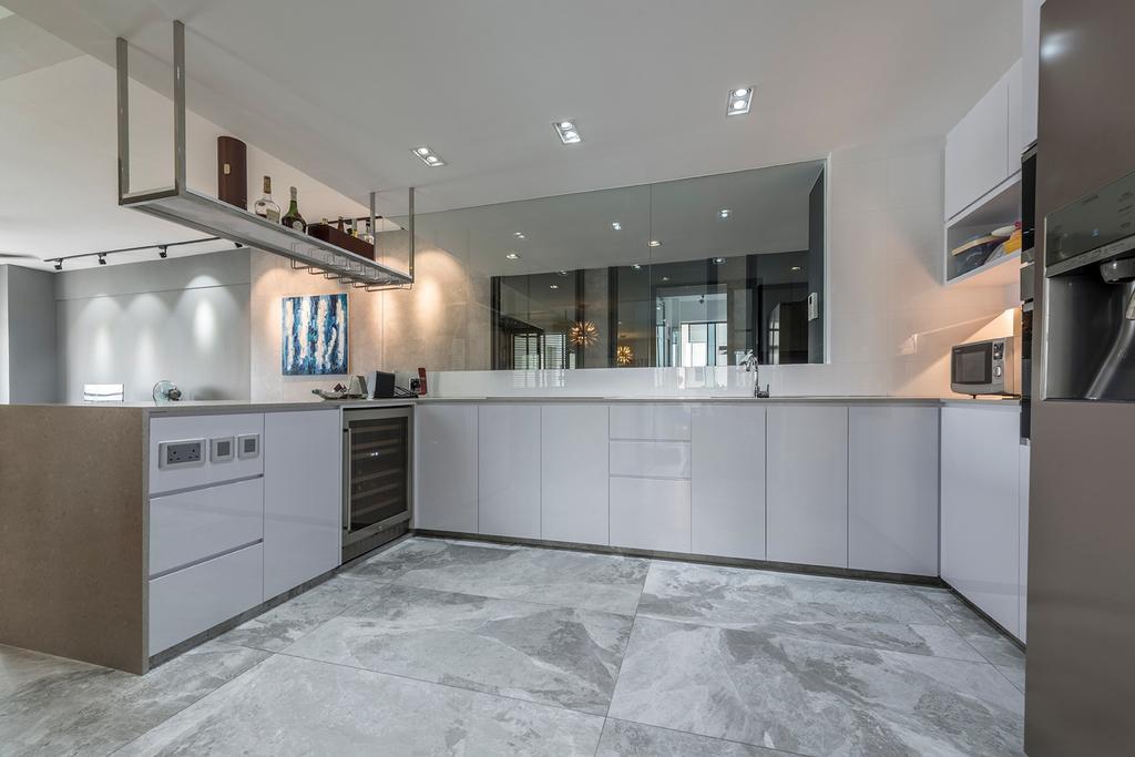 Modern, Condo, Kitchen, The Anchorage, Interior Designer, 13th Design Studio, Contemporary