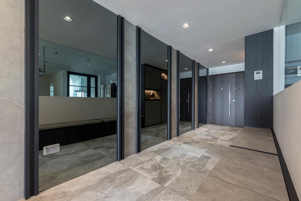 Modern, Condo, Living Room, The Anchorage, Interior Designer, 13th Design Studio, Contemporary