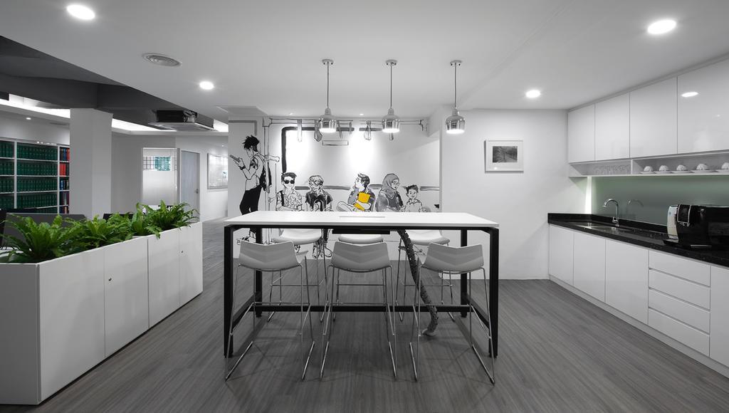 Kompleks Pejabat Damansara, KL, Commercial, Interior Designer, Goodwinds Interior Design Sdn. Bhd., Contemporary, Minimalistic