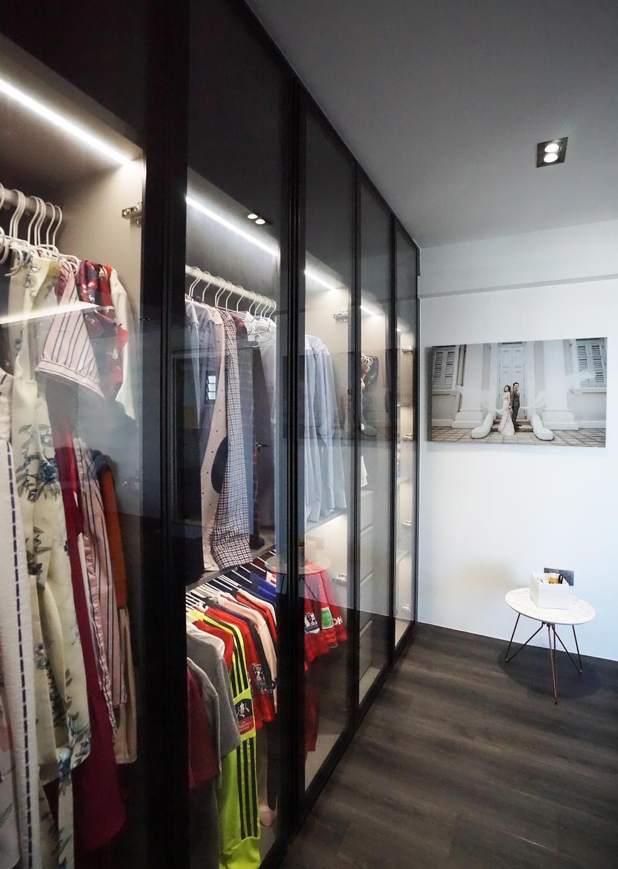 Contemporary, HDB, Bedroom, Tampines North Drive 1 (Block 610A), Interior Designer, Metamorph Design