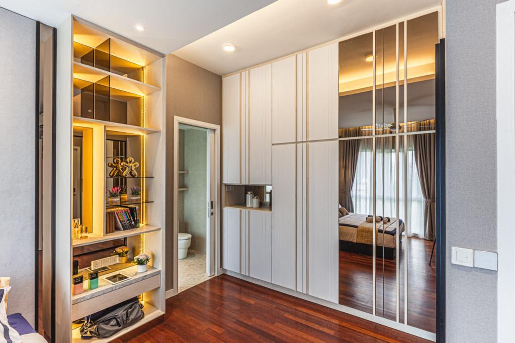 Condo, Bedroom, Pavillion Hilltop, Interior Designer, Design Aid Sdn. Bhd.