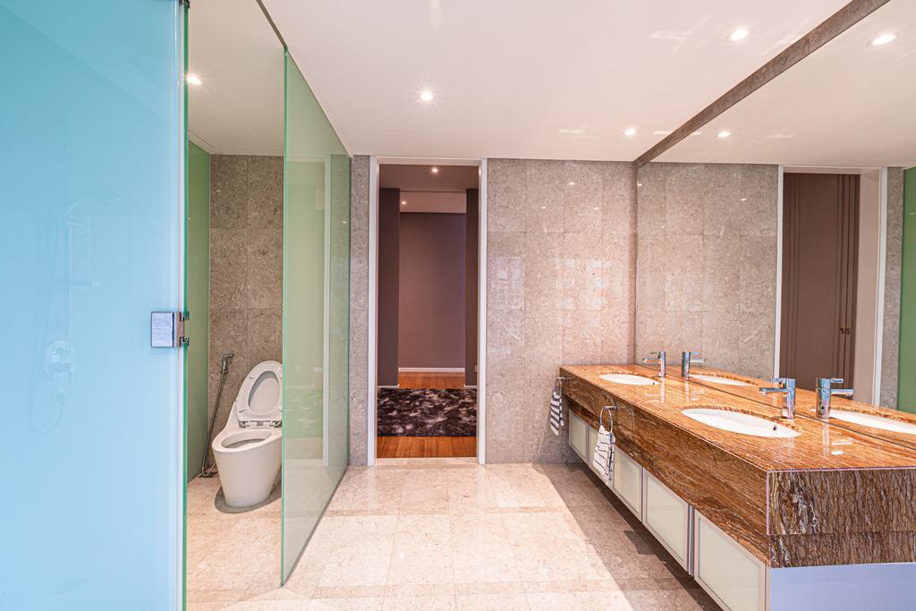 Modern, Condo, Bathroom, Oval Residence KL, Interior Designer, Design Aid Sdn. Bhd.