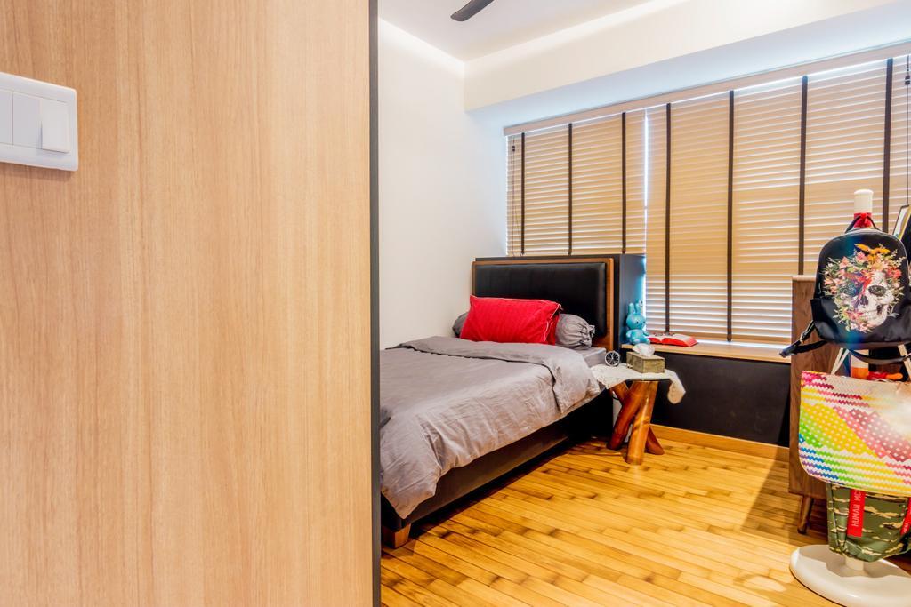 Modern, HDB, Bedroom, Toa Payoh Lorong 1A, Interior Designer, 9 Creation, Contemporary