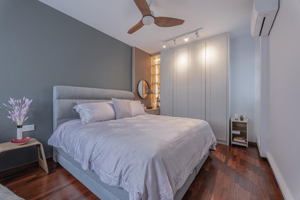 Contemporary, HDB, Bedroom, Punggol Central, Interior Designer, Luova Project Services