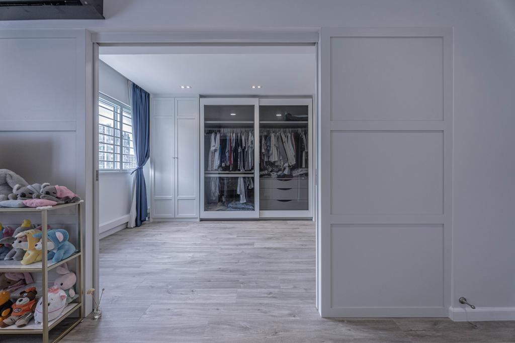 Modern, HDB, Bedroom, Hougang Street 51, Interior Designer, Luova Project Services