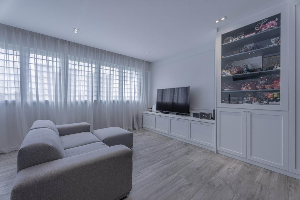 Modern, HDB, Hougang Street 51, Interior Designer, Luova Project Services