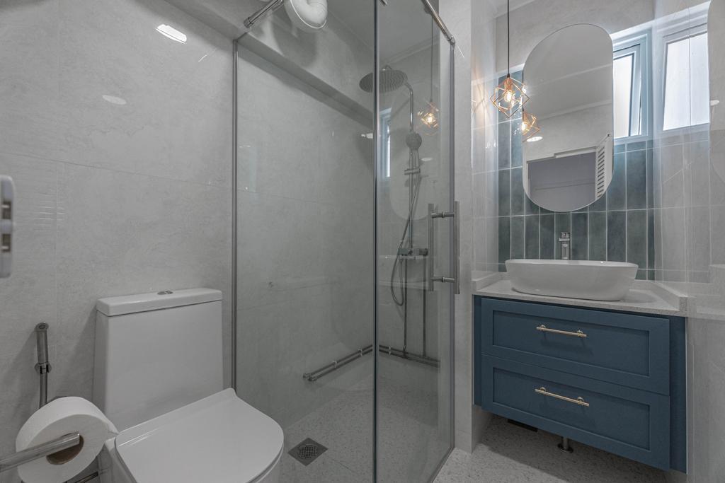 Modern, HDB, Bathroom, Hougang Street 51, Interior Designer, Luova Project Services