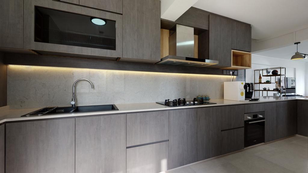 Contemporary, HDB, Kitchen, Telok Blangah Heights, Interior Designer, Stylemyspace