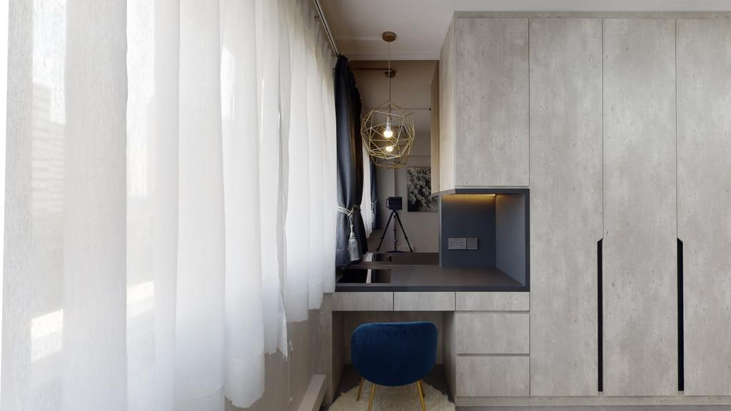 Contemporary, HDB, Bedroom, Telok Blangah Heights, Interior Designer, Stylemyspace