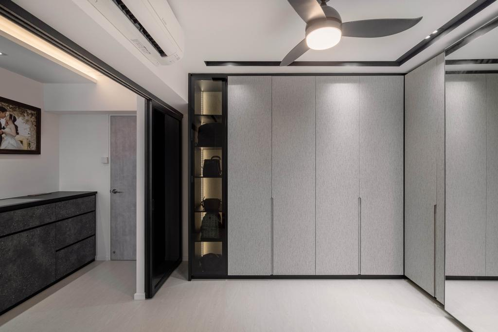 Contemporary, HDB, Bedroom, Jalan Rumah Tinggi, Interior Designer, The Makers Design Studio