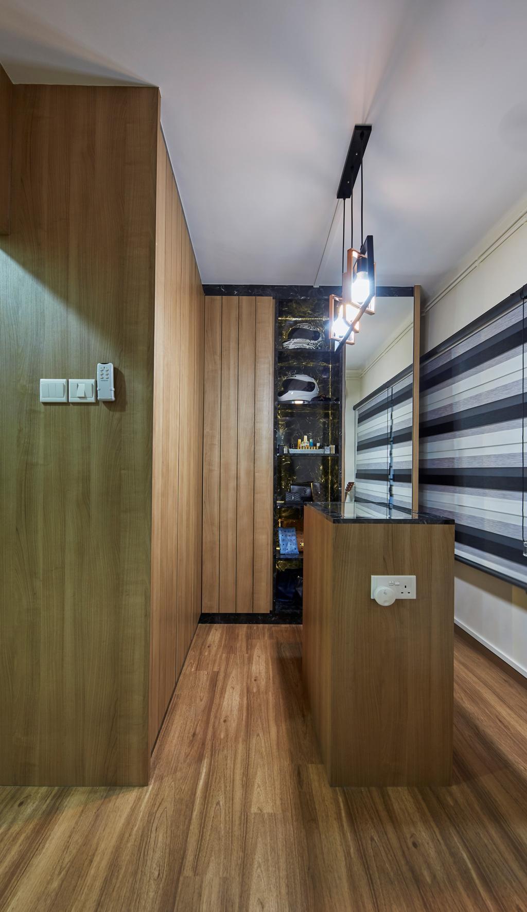 Contemporary, HDB, Bedroom, Bukit Batok Street 25, Interior Designer, SHE Interior, Walk In Wardrobe