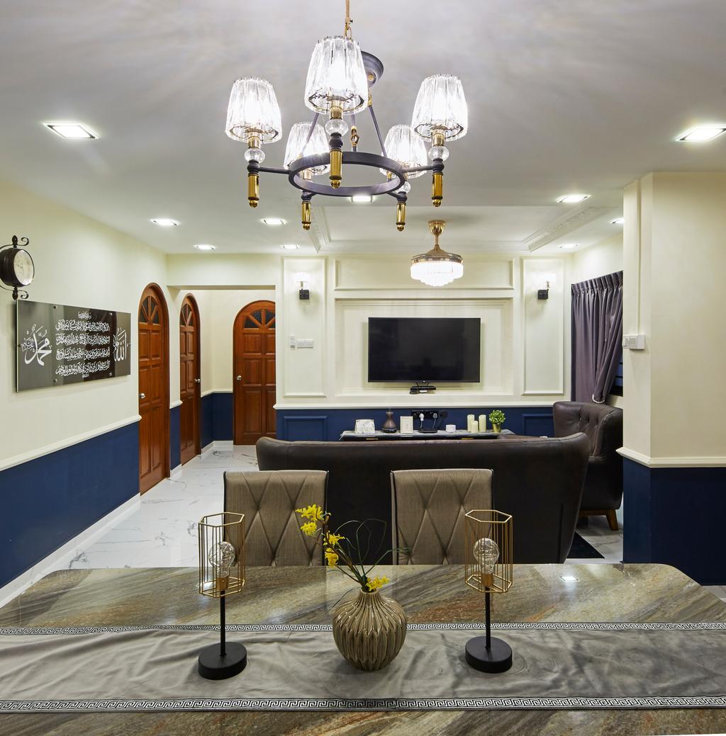 Contemporary, HDB, Living Room, Bukit Batok Street 25, Interior Designer, SHE Interior