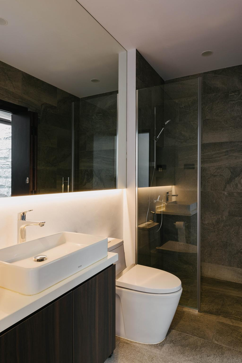 Contemporary, Landed, Bathroom, Jalan Aruan, Interior Designer, Forefront Interior