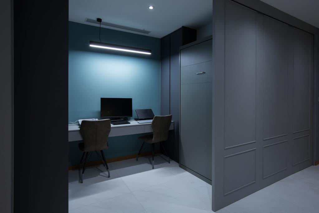 Contemporary, Condo, Bedroom, One Marina Residences, Interior Designer, Inizio Atelier