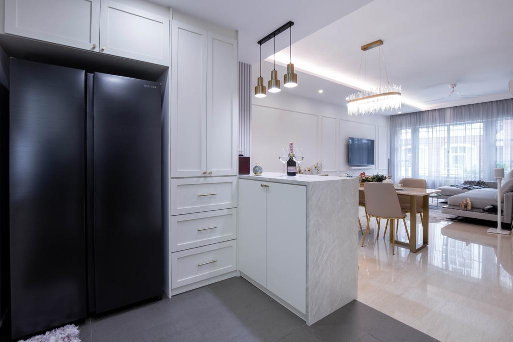 Modern, Condo, Kitchen, Sunrise Gardens, Interior Designer, Inizio Atelier, Contemporary