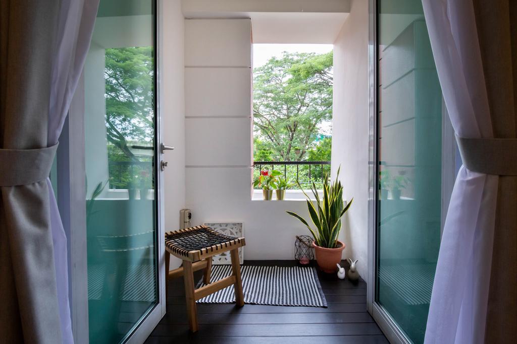 Modern, Condo, Balcony, Sunrise Gardens, Interior Designer, Inizio Atelier, Contemporary
