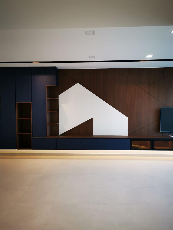 Contemporary, Condo, Living Room, Park Green, Interior Designer, Divine & Glitz