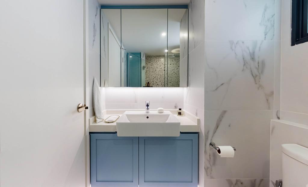 Contemporary, HDB, Bathroom, Pinnacle @ Duxton, Interior Designer, Posh Home