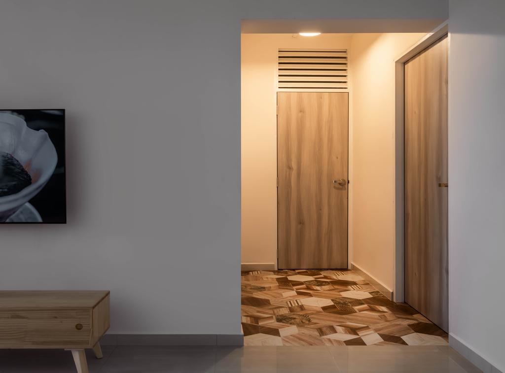 Contemporary, HDB, Living Room, Bukit Batok Street 21, Interior Designer, Zenith Arc