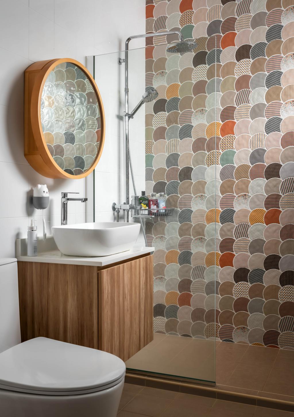 Contemporary, HDB, Bathroom, Bukit Batok Street 21, Interior Designer, Zenith Arc