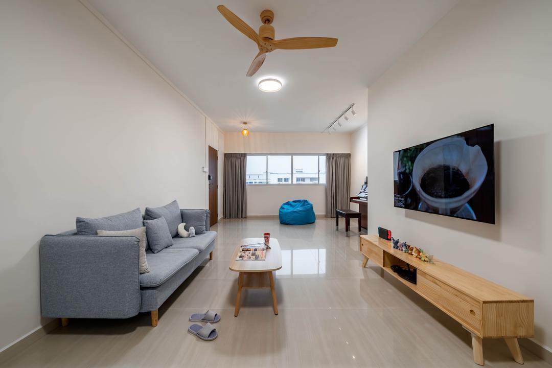 Bukit Batok Street 21 Living Room Interior Design 5