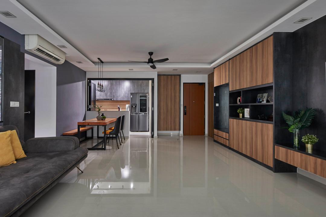 Sengkang West Way Living Room Interior Design 8