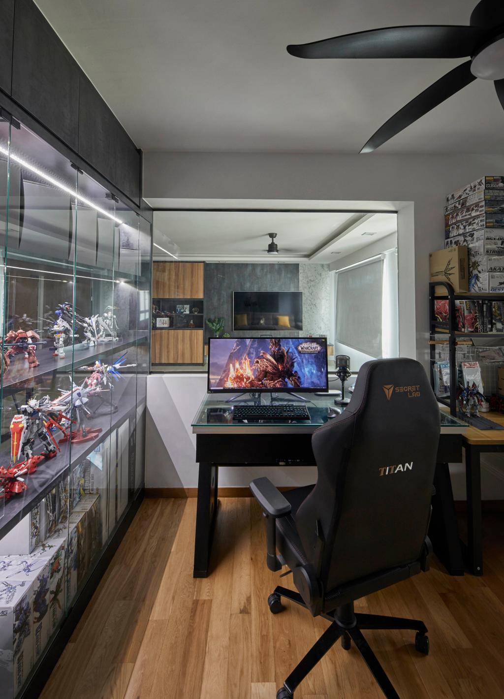 Contemporary, HDB, Study, Sengkang West Way, Interior Designer, The Interior Lab