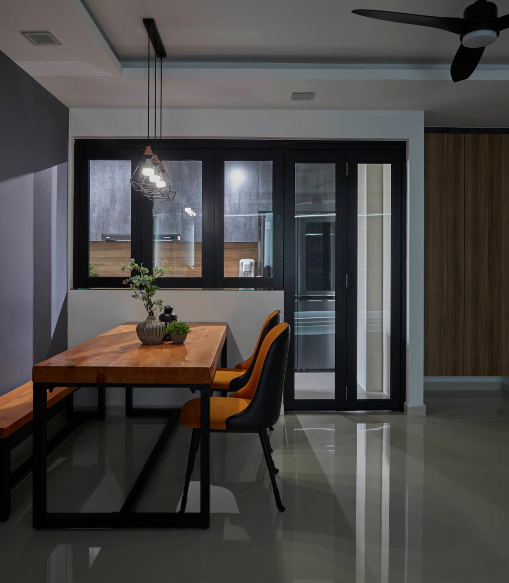 Contemporary, HDB, Dining Room, Sengkang West Way, Interior Designer, The Interior Lab