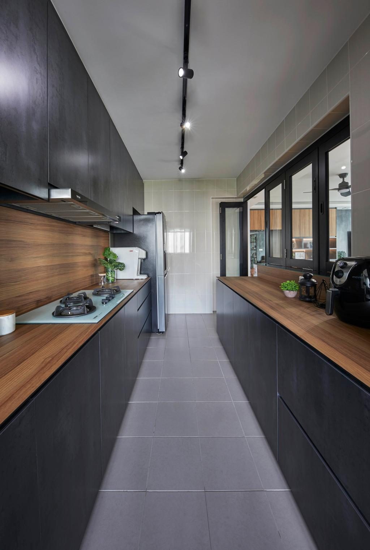 Contemporary, HDB, Kitchen, Sengkang West Way, Interior Designer, The Interior Lab