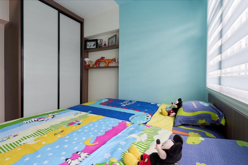 Modern, HDB, Bedroom, Bukit Batok Avenue 9, Interior Designer, Roughsketch, Contemporary