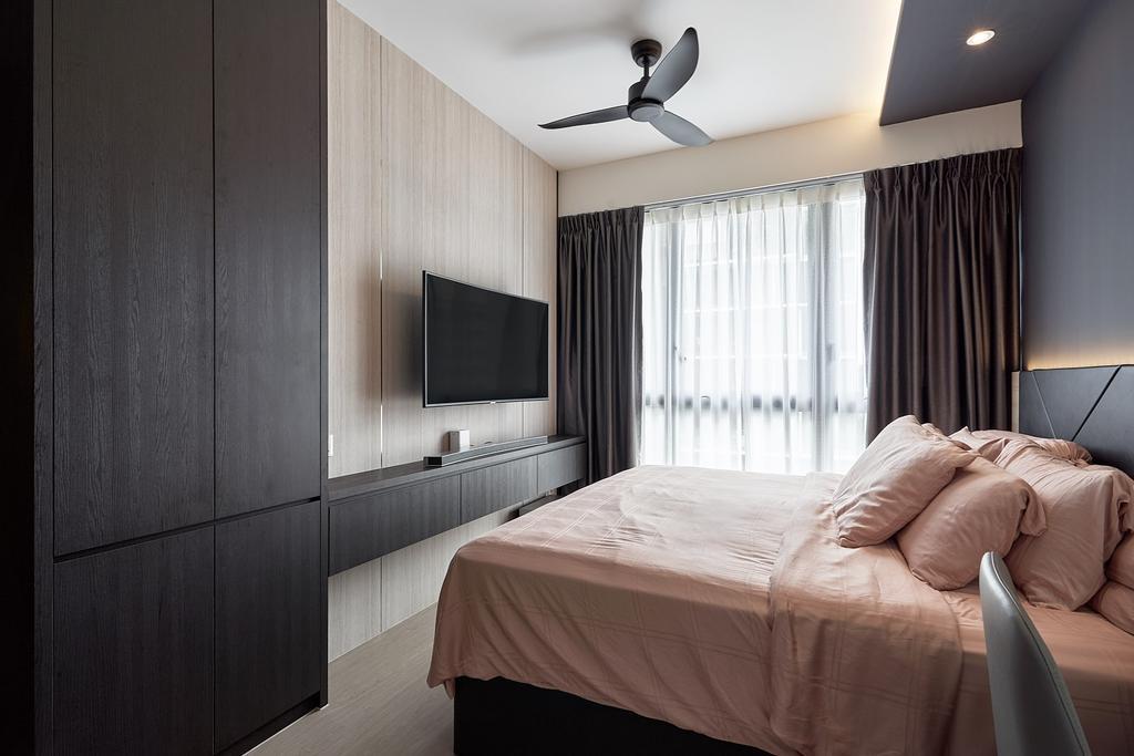 Contemporary, Condo, Bedroom, iNZ Residence, Interior Designer, Roughsketch