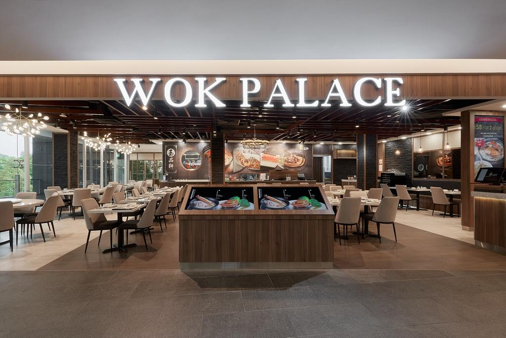 Wok Palace, Commercial, Interior Designer, Roughsketch, Modern