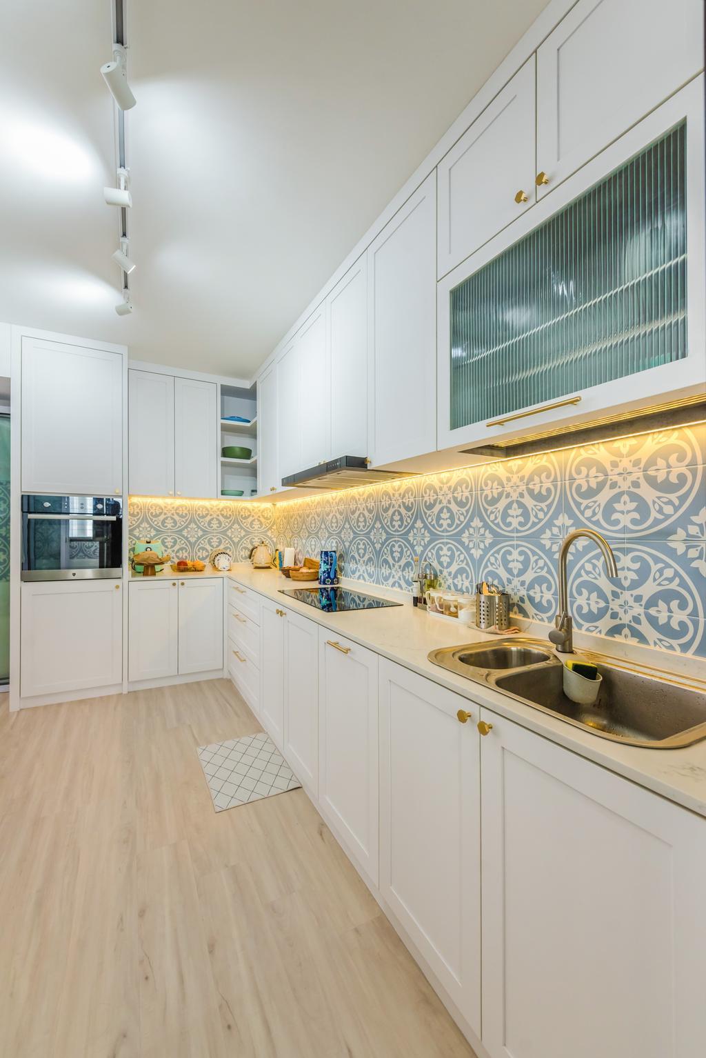Contemporary, HDB, Kitchen, Tampines North Drive 1, Interior Designer, Archive Design