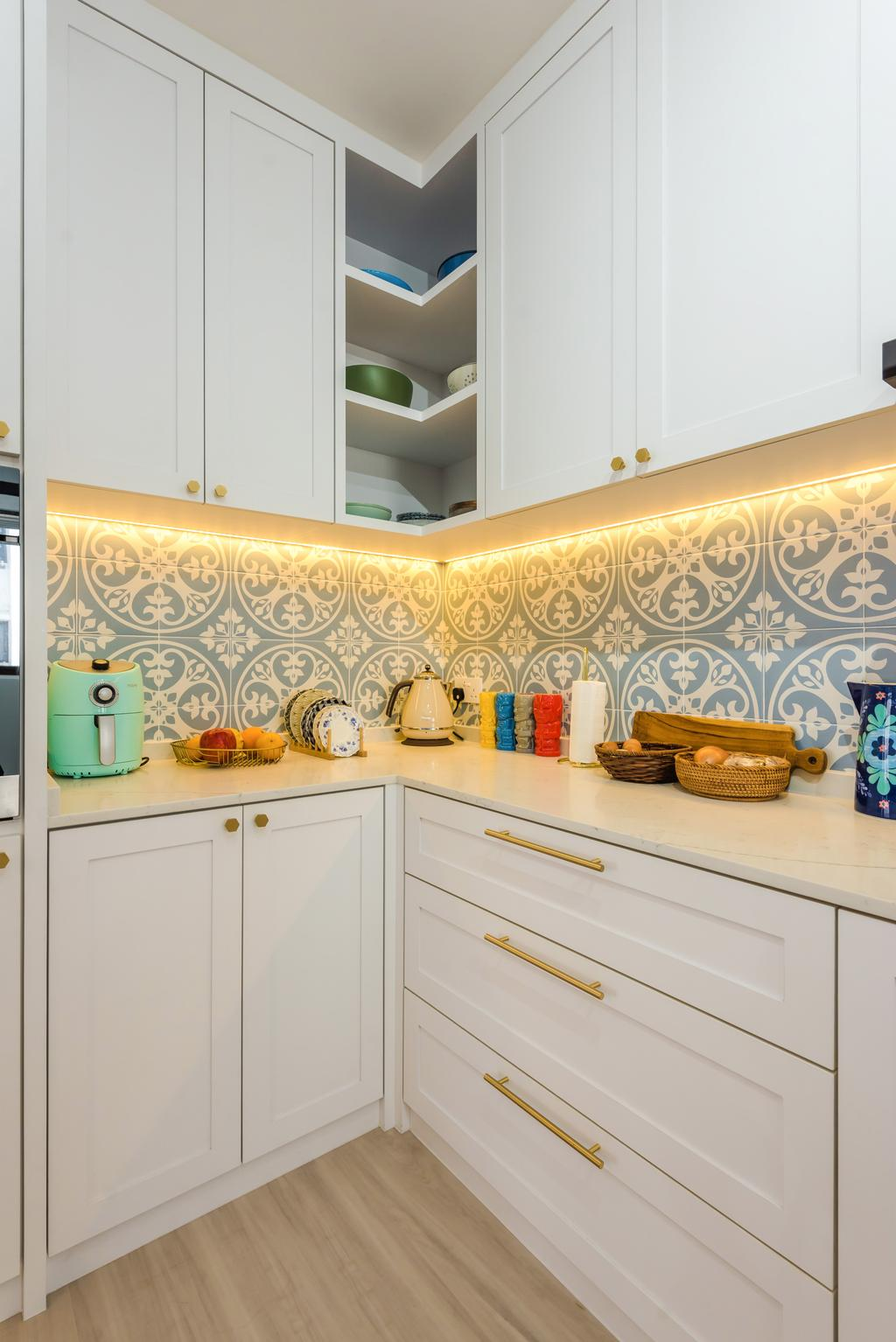 Contemporary, HDB, Kitchen, Tampines North Drive 1, Interior Designer, Archive Design