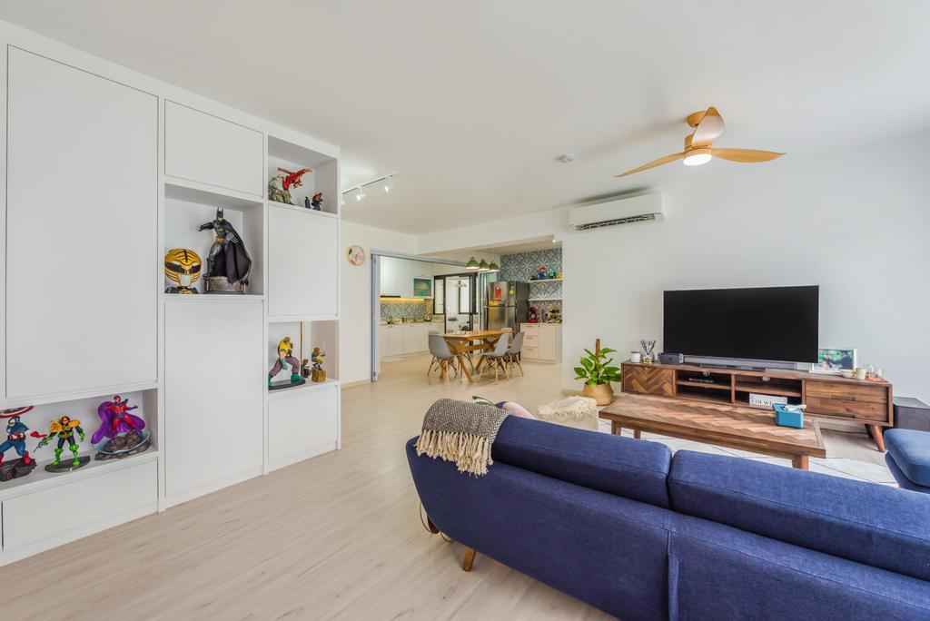 Contemporary, HDB, Tampines North Drive 1, Interior Designer, Archive Design