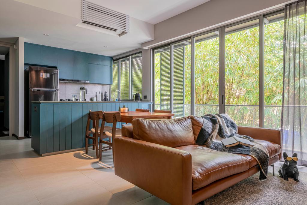 Contemporary, Condo, Living Room, Tembeling Road, Interior Designer, Divine & Glitz