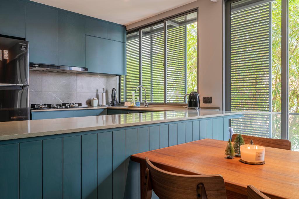 Contemporary, Condo, Kitchen, Tembeling Road, Interior Designer, Divine & Glitz