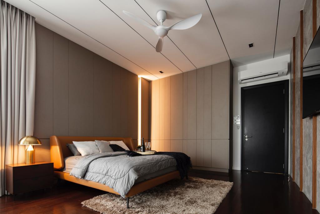 Modern, Landed, Bedroom, Jade Hills, Kajang, Interior Designer, Surface R Sdn. Bhd., Contemporary