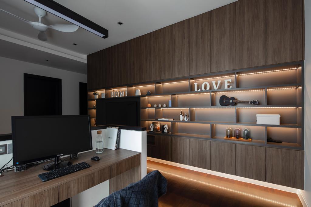 Modern, Landed, Jade Hills, Kajang, Interior Designer, Surface R Sdn. Bhd., Contemporary
