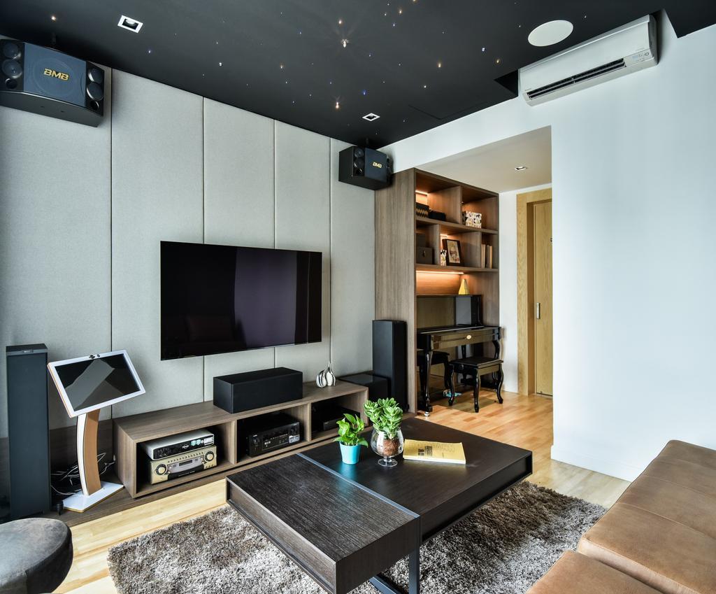 Modern, Landed, R22, Mont Kiara, Interior Designer, Surface R Sdn. Bhd., Contemporary