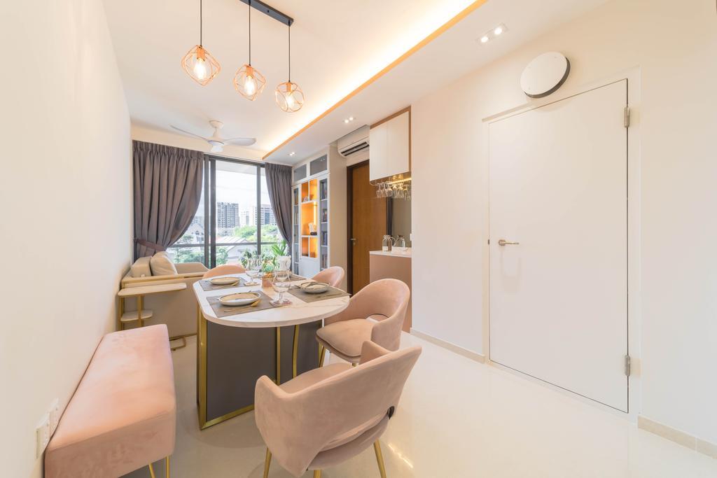 Contemporary, Condo, Living Room, Haigsville Road, Interior Designer, Pavilon BC