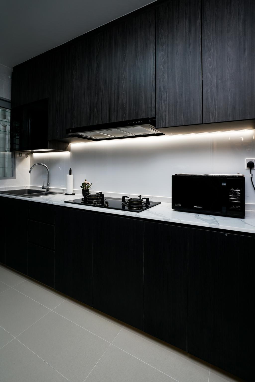 Contemporary, HDB, Kitchen, Tampines North Drive 1 (Block 614B), Interior Designer, ChengYi Interior Design