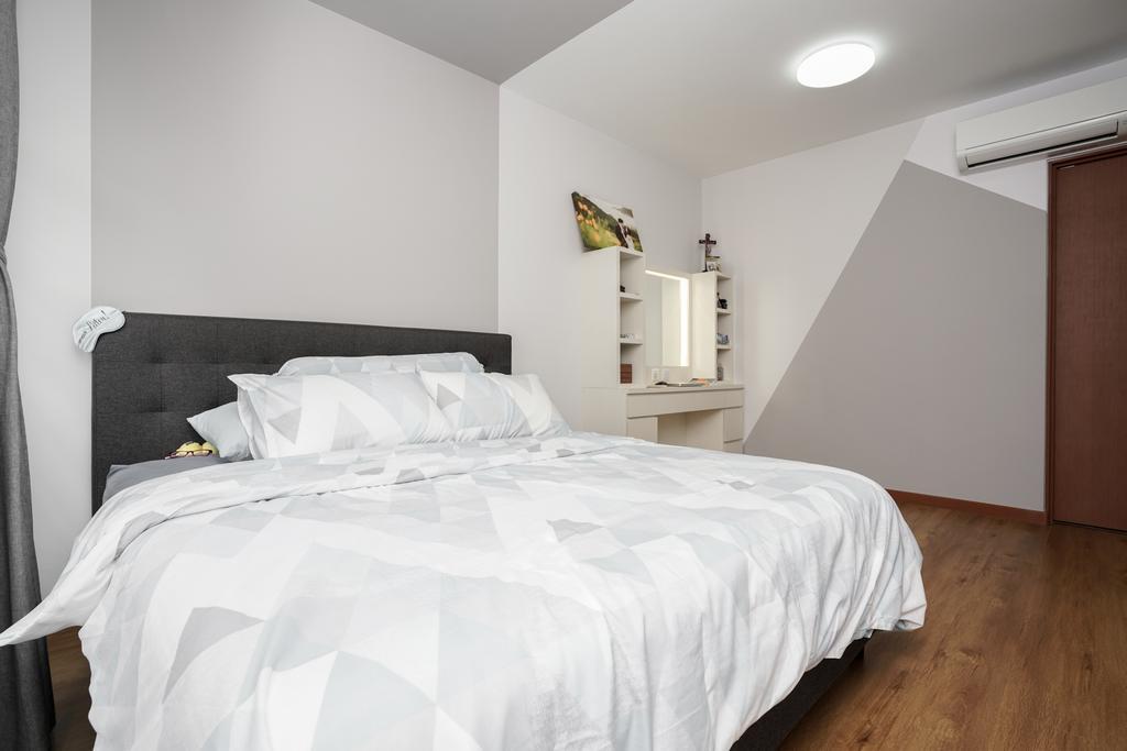 Contemporary, HDB, Bedroom, Tampines North Drive 1 (Block 614B), Interior Designer, ChengYi Interior Design