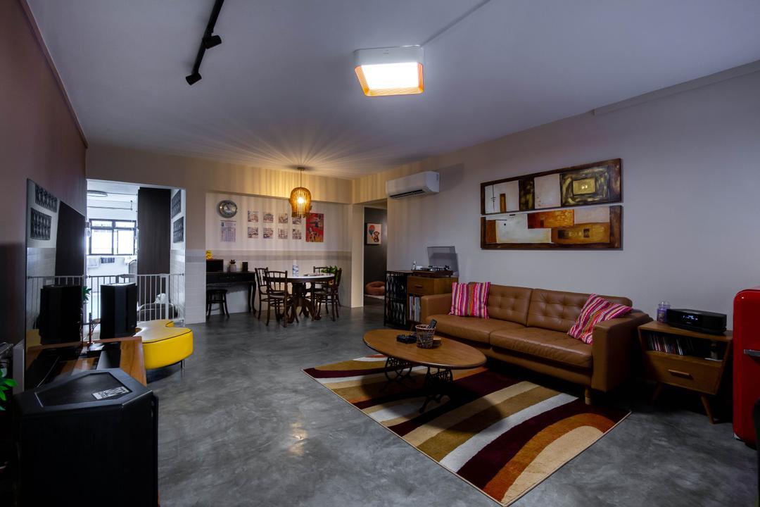 Tampines Street 12 Living Room Interior Design 6