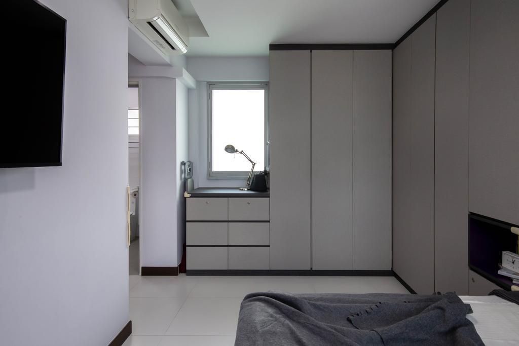 Modern, HDB, Bedroom, Fernvale Link, Interior Designer, Yang's Inspiration Design, Contemporary